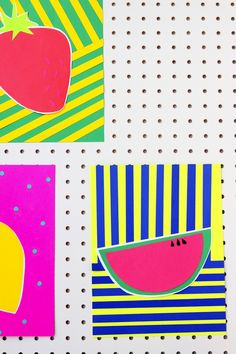 colorful fruit paper cuts are my fave (giveaway!)