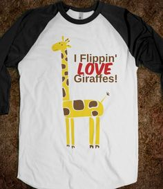 Giraffes - SPIT CLOTHING: Don't be lame, buy one now! on Wanelo