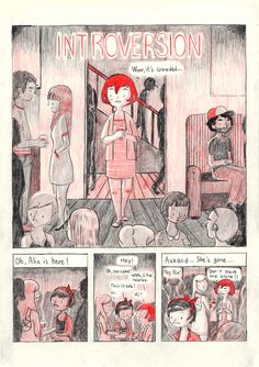 """Perfect.  French fries and waffles: My comic; """"Introversion"""" is finished! Please go to..."""