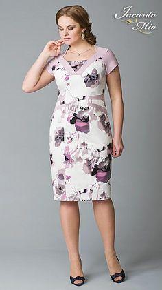 Платья больших размеров белорусского бренда Inkanto Mio. Весна-лето 2013