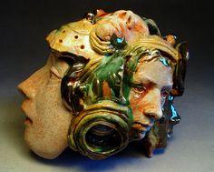 Ceramics, Shin-Yeon Jeon, Artist, Masks and Faces, 2011