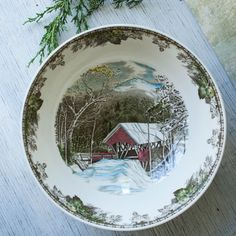 Rare Vintage Friendly Village Punch by RoostersNestVintage on Etsy