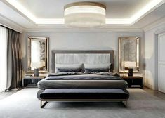 The bedroom is one of the most private areas in your house. It is a place where you can sleep and take a rest after doing all of your activities. a master bedroom should reflect your personality… Continue Reading → Luxury Bedroom Design, Master Bedroom Design, Bedroom Designs, Bedroom Sets, Home Bedroom, Hotel Bedroom Decor, Suites, Minimalist Bedroom, Luxurious Bedrooms