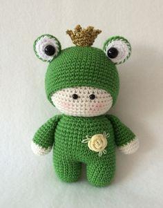 Crochet Frog Smoozle