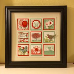 I created this spring sampler to help usher in the new season. It is just around the corner! (All stamps, paper and accessories are available in my online Stampin' Up! store.)