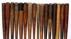 Old Baseball Bats .... Just need Wonderboy!