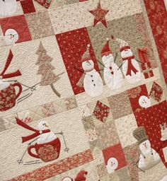 Love Winter/Christmas quilts