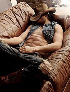 | marlon teixeira model~Brazilian Cowboy!