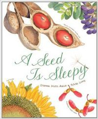 """A Seed is Sleepy"" is an introduction to seeds and plants.  Follow the link for an accompanying lesson plans!"