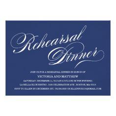 10,000+ Rehearsal Dinner Invitations & Announcement Cards | Zazzle