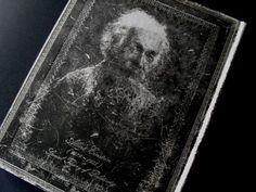 photo n°3 : Beau carnet collection les manuscrits estampés, Albert Einstein