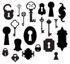 KLDezign les SVG: novembre 2012  free antique key epherma svg cut files