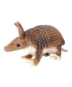 This Armadillo Stuffed Animal by Hansa Toys is perfect! #zulilyfinds