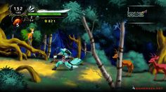 Dust an Elysian Tail Gameplay Screenshot 1