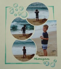 Le scrapbooking de Carole - Mes pages de scrap. Original interlocking method