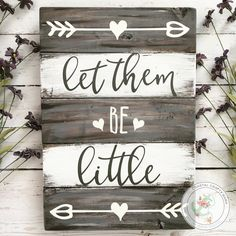 Let them be little s