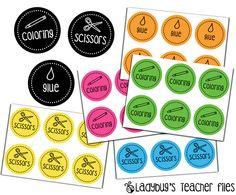 Classroom Labels (from Ladybug's Teacher Files) Classroom Labels, Classroom Organisation, Teacher Organization, School Classroom, Classroom Themes, Classroom Management, Future Classroom, Organization Ideas, Ladybug Teacher Files