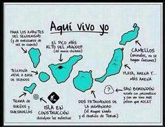 Aqui vivo yo !!!  Feliz dia de Canarias   30 de Mayo .