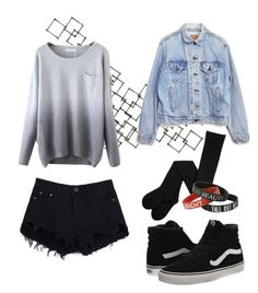 KPop by cameronberlin on Polyvore featuring Levi's, Vans, Crate and Barrel, women's clothing, women's fashion, women, female, woman, misses and juniors