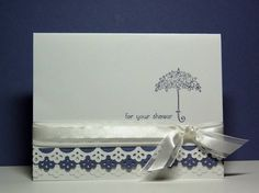CAS126, For Your Shower by Missro - Cards and Paper Crafts at Splitcoaststampers