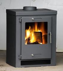 Wood Burning Multifuel Stove Contemporary 9kw Italia Wood Burner -Modern Stoves | eBay