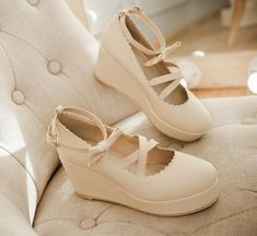 "Japanese sweet platform shoes high heels $35.00 enter ""thingsfromjapan"" for 10% off http://thingsfromjapan.net/japanese-sweet-platform-shoes-high-heels/ #kawaii Japanese shoes #Japanese fashion"
