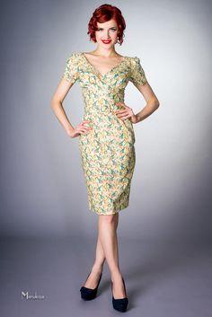 Tea dress 1940s vint