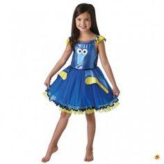 Kostüm Dory Deluxe, Kinder Kleid blau kaufen