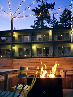 Basecamp South Lake Tahoe - A friendly 50-room hotel retreat in the heart of the Lake Tahoe Basin in California. #honeymoon #winter #travel