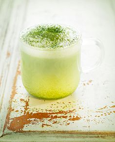 Matcha Latte drink in Ideas, information and recipes about teas and steps on how to make and prepare it