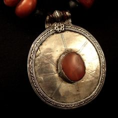 """Another view...a close-up of the pendant...  www.halter-ethnic.com...see """"My Lucky Finds"""""""
