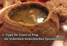 11 Tipps für Essen und Trinken in Prag – die leckersten tschechischen Spezialitaeten!