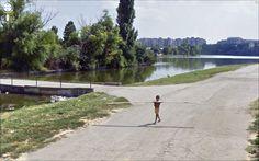 Jon Rafman - Strada Olanelor / Strada Steaua Rosie, Bucharest, România