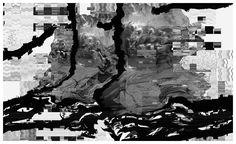V Untitled, Druk Cyfrowy,  150 x 90 cm, 2012