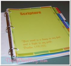 prayer-journal-pages to be printed for a binder---LOVE the headings/topics  Idea to pray for one number a day