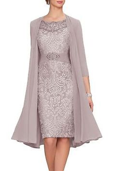 You are searching for a cute mother of the bride dress? You should take a look at this Newdeve Chiffon Mother The Bride Dresses Tea Length Two Pieces Jacket. Mother Of Groom Dresses, Bride Groom Dress, Mothers Dresses, Bride Dresses, Wedding Dresses, Tulle Wedding, Wedding Outfits, Vestidos Plus Size, Plus Size Dresses