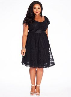 Beautiful plus size  Liz Lace Dress from IGIGI