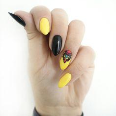#hybrydy #patabloguje #patamaluje #semilac #paznokcie #hybrid #aztec #geometric #pattern #nails #manicure #