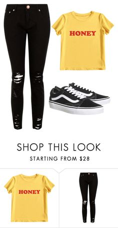 """Untitled #91"" by kacis-kacis on Polyvore featuring MIEL and Topshop"