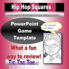 hollywood squares powerpoint template - the shows and the nine clicks the nine clicks the