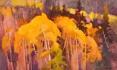 Autumn Patterns Below Blue Creek by Stephen Quiller