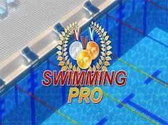 swimming pro - Desafiar a los mejores nadadores del mundo y vencer a tiempo! Recoge medallas para aumentar tu energía y da un paso hacia el podio de los campeones!
