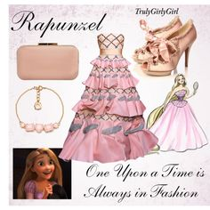 Disney Style: Rapunzel (Disney Princess Designer Collection), created by trulygirlygirl