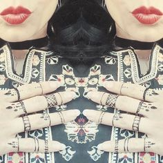 Henna tats and @isabelmarant