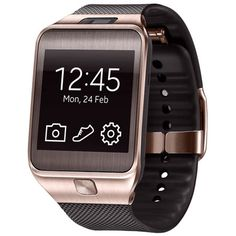 Samsung Gear 2 Gold Brown Ceas inteligent de top