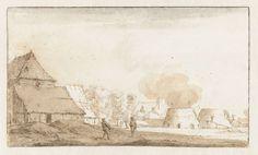 Jan de Bisschop | Kalkovens bij Leiderdorp, Jan de Bisschop, 1648 - 1671 |