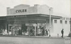 Coles Thornbury - corner High Street and Miller St. Melbourne Victoria, Victoria Australia, Melbourne Suburbs, Australian Vintage, The 'burbs, Broken Promises, Historic Houses, Quebec City, Amazing Pics