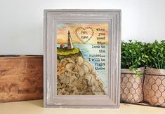 5x7 Pet Sympathy Tribute, Personalized Memorial Gift, Customized with Pet's Name, Pet Loss Gift, Sunset Lighthouse Print, Bereavement Gift by HomemadecardsByDiane on Etsy