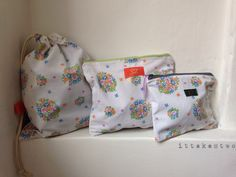 Handmade upcycled pouches