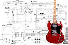 Gibson SG® Electric Guitar Plan